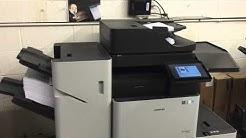 Samsung Printer Copier Million Page Test - Scanning and Printing