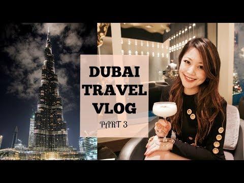 DUBAI TRAVEL VLOG (Pt.3) – Dubai Mall, Dubai Aquarium, Gold Souk, Ski Dubai    Heels on the Go
