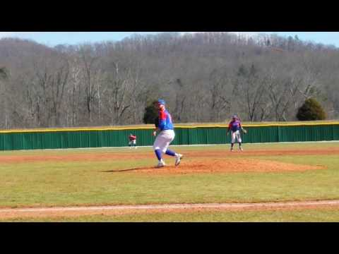 Chase Neibarger LHP 2/19/2017 vs Olney Central College 7th inning