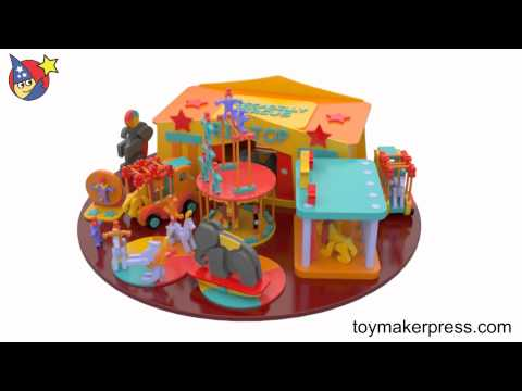 Wood Toy Plans - Creative Big Top Circus and Animals