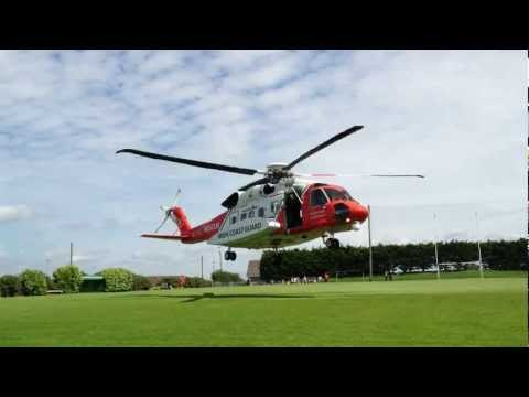 Irish CoastGuard Sikorsky S-92 Rescue Helicopter