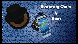 Instala Recovery Cwm y root Galaxy s2 (Español)