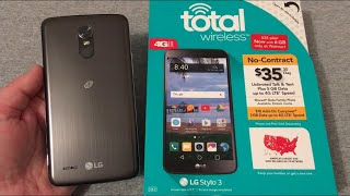 LG Stylo 3 Unboxing & First Look (Total Wireless)