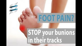 Get rid of foot pain - Taylor's Bunion