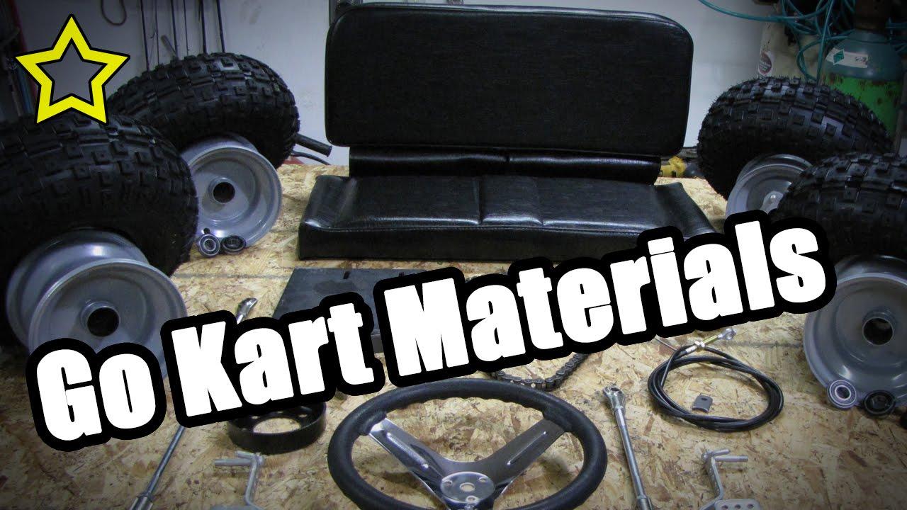 Go kart materials how to build a go kart frame materials youtube youtube premium solutioingenieria Gallery