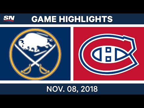 NHL Highlights | Sabres vs. Canadiens – Nov. 8, 2018