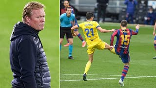 Ronald Koeman and Barcelona make the SAME MISTAKES during draw with Cadiz