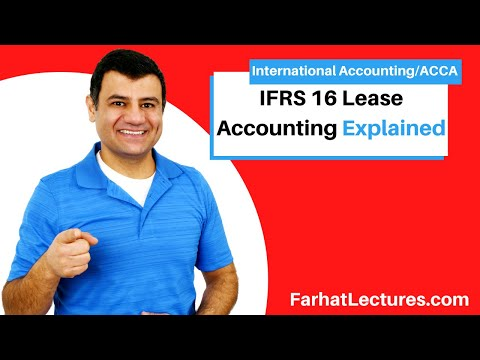 IFRS 16 Leases IFRS Lectures Finance Lease International Counteracting ACCA Exam default