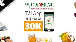 Kiếm thẻ cào từ ứng dụng Maper
