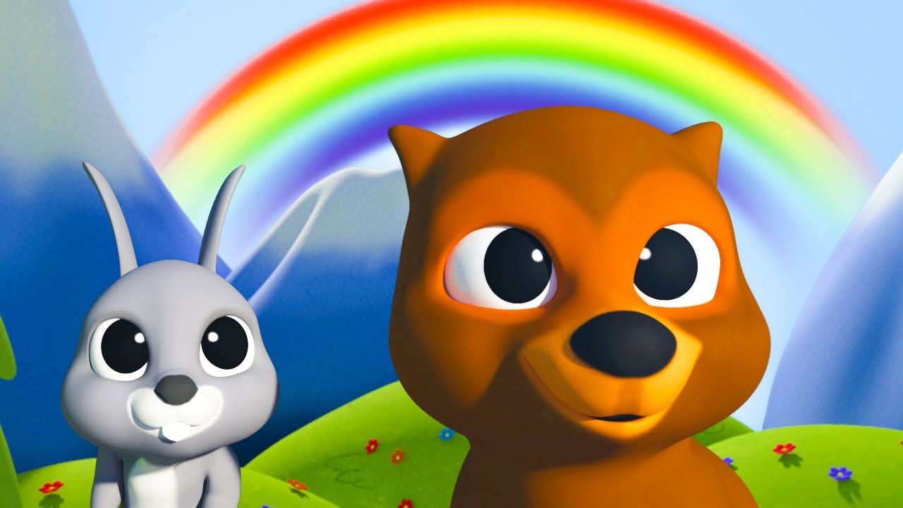 The Rainbow Color Learning Song | Kids Songs | Mirror of Years