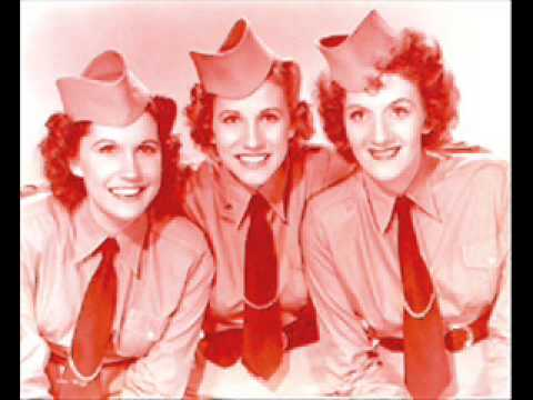 The Andrews Sisters  The Merry Christmas Polka 1950 with Guy Lombardo