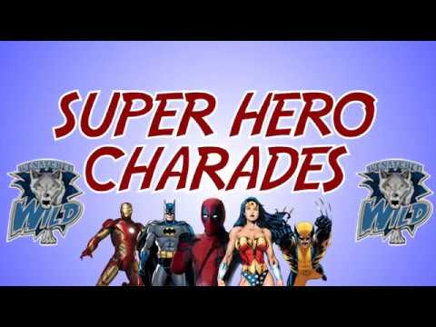 Wenatchee Wild SuperHero Charades - Vol 2