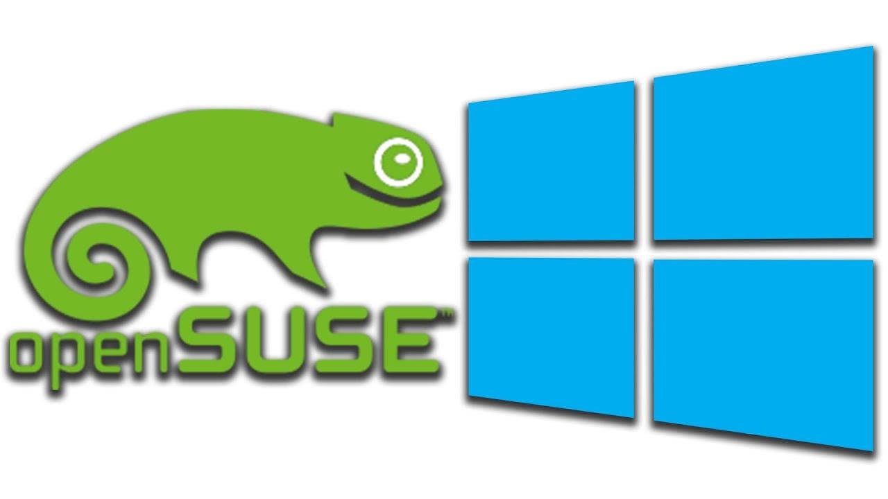 OpenSUSE Linux on Windows 10 WSL | Make Windows green again
