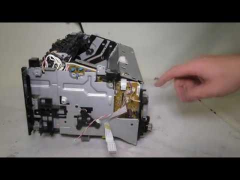 Разборка и профилактика принтера Hp LaserJet M1132.