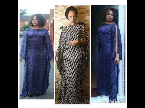 How To Make A Kaftan Dress\Bubu thumbnail