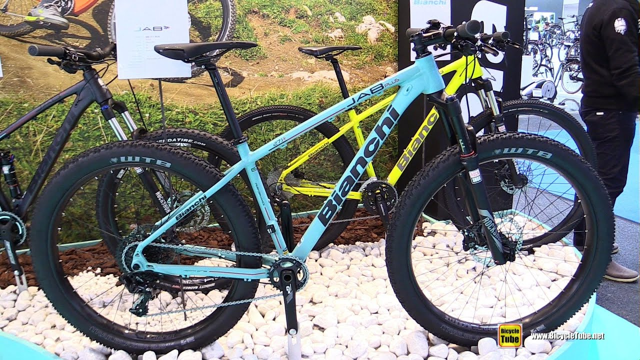 1d3e10b80d0 2016 Bianchi Jab 27.1 Plus Mountain Bike - Walkaround - 2015 Eurobike