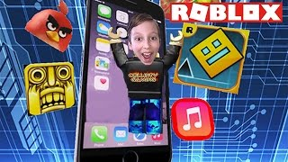 ROBLOX ESCAPE THE iPHONE 7 | ROBLOX OBBY VIDEO | COLLINTV GAMING