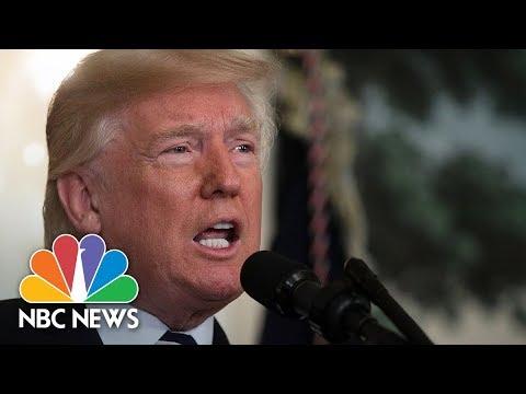 President Donald Trump Announces New Tariffs Against China | NBC News
