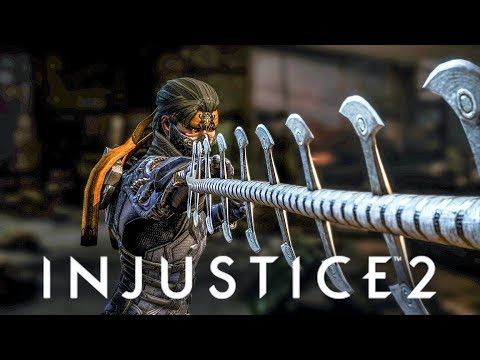 INJUSTICE 2 - NEW Mortal Kombat Characters Reference! Atom Intro (Takeda/Jacqui)