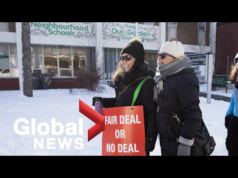 Rotating Ontario teachers strikes continue in protest of education funding