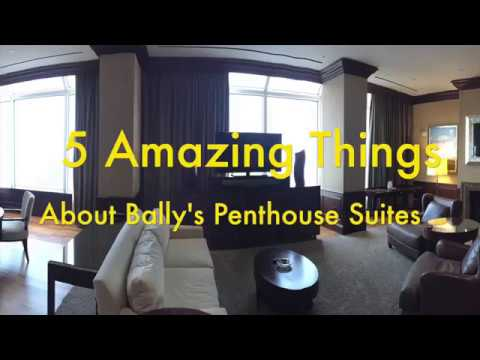5 Amazing Things About a Penthouse Suite at Bally's Atlantic City
