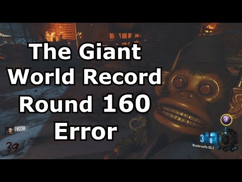 The Giant World Record Round 160 Error PS4