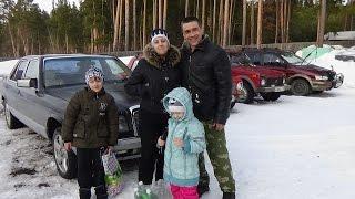 Поездка в село Холодное на Мерседес 126.