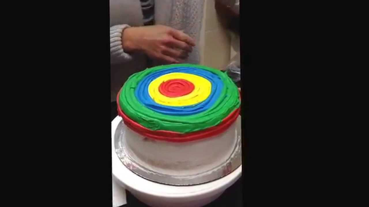 How To Make A Tie Dye Cake With Fondant