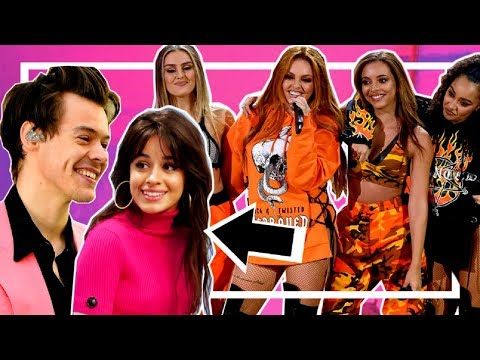 Celebrities REACTING To Little Mix | FAMOUS PEOPLE Talking A