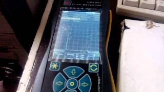 видео Ультразвуковой дефектоскоп NOVOTEST УД2301