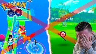 I MISSED AN UNOWN IN POKEMON GO! *NEW SERIES* Battling Through Boston! Pokemon Go in Boston #2