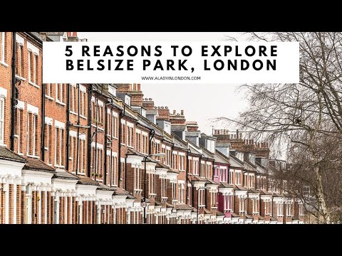 5 REASONS TO EXPLORE BELSIZE PARK, LONDON | Belsize Village | Mews | Side Streets | High Street