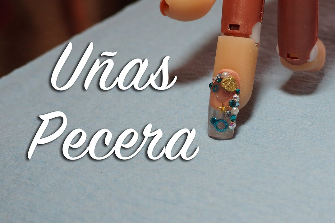 Uñas pecera (acuario) - Diseños de uñas - YouTube