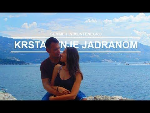 Summer in Montenegro (III deo): Krstarenje Jadranom - travel vlog
