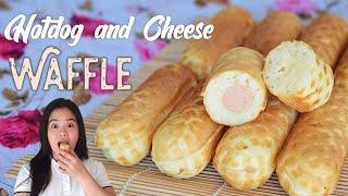 Recipe Negosyo : Hotdog and Cheese WAFFLE  ASG
