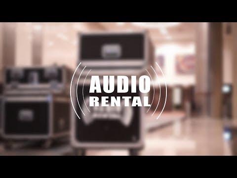 Audio Rental - Armado Hilton