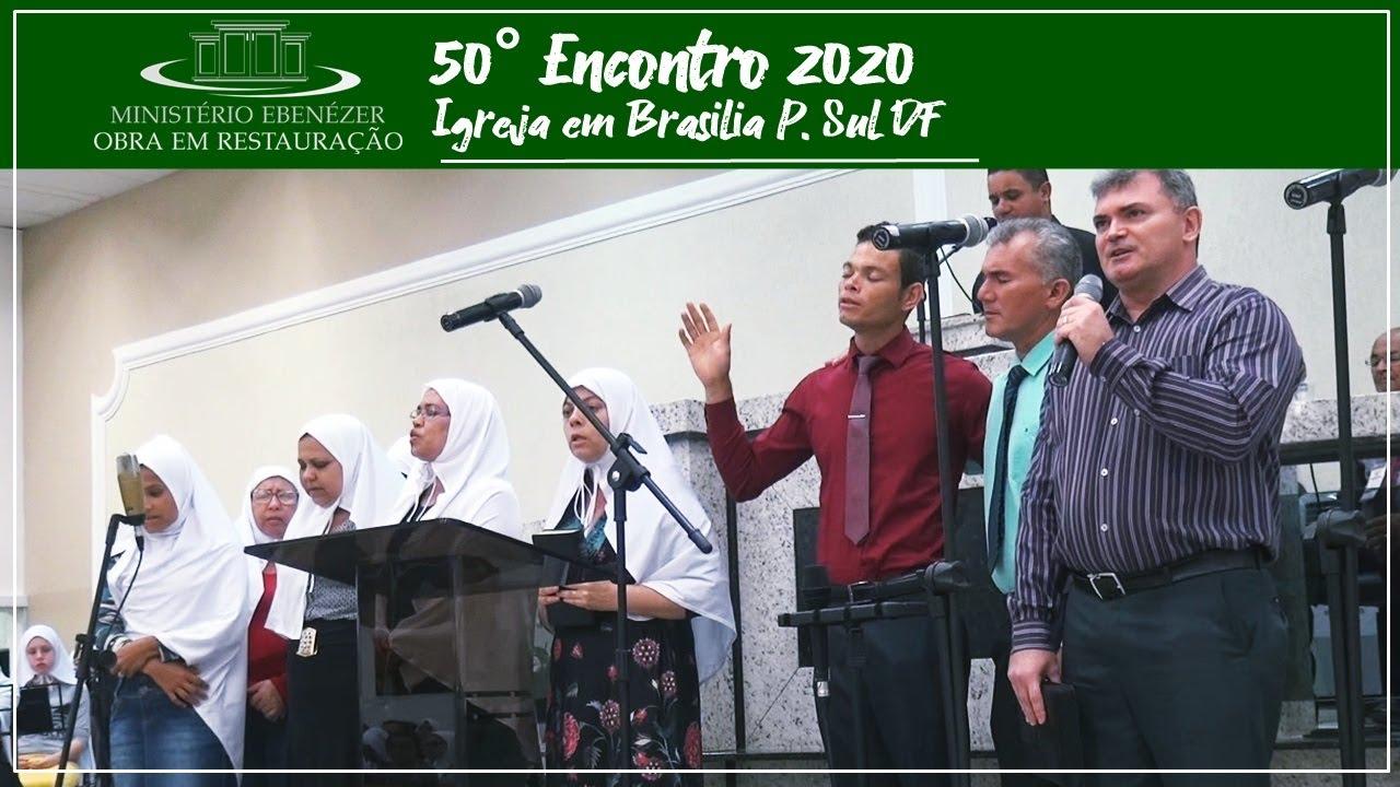 Volta Jesus, o templo est� pronto O casti�al aceso, pro Deus de Israel voltar - 50� Encontro 2020.