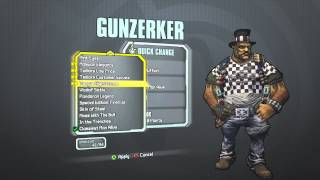 Borderlands 2 - Gunzerker Dapper Gent Pack (Redefined Ruffian/Classiest Man Alive)