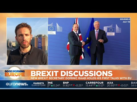 euronews (in English): Brexit Discussions: new Brexit secretary Dominic Raab holds his first talks with the EU
