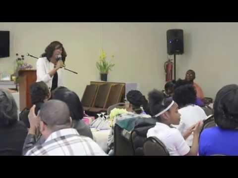 Gospel Recording Artist- Kaniesha Trott performance at Community Pentecostal Prayer Breakfast
