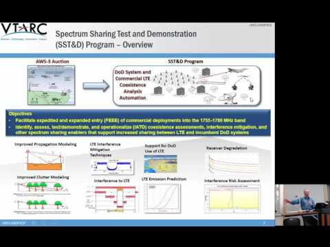 Spectrum Sharing Test and Demonstration: LTE- DoD Coexistence