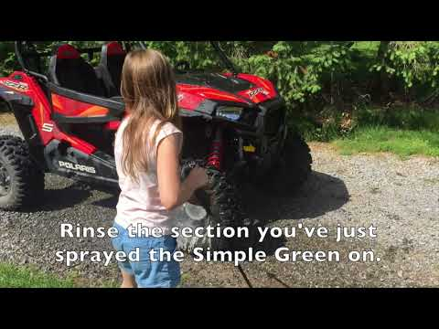 How to Wash Your ATV or UTV and keep it looking new!