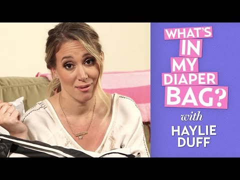 Haylie Duff Reveals What's Inside Her Daughter Ryan's Diaper Bag