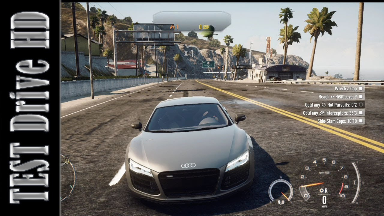 Audi R8 Coupe V10 Plus - Need for Speed: Rivals - Test Drive [HD] - YouTube