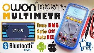 Bluetooth мультиметр OWON B35T+ | Хороший мультиметр с True RMS(, 2017-01-14T13:33:47.000Z)