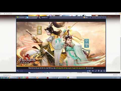 Hướng Dẫn  AE Cách Tải Và Chơi Game Võ Lâm Mobile Lậu Trên PC