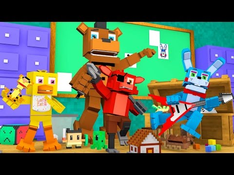 Minecraft Daycare - FIVE NIGHTS AT FREDDY'S BABY KILLERS! (Minecraft Roleplay)