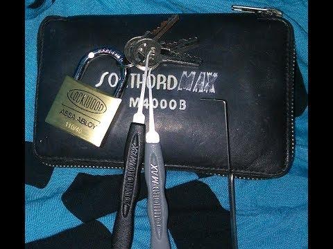 Взлом отмычками ABLOY   Lock Picking Lockwood ASSA ABLOY 110/40 Padlock