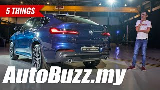 BMW X4 xDrive30i M Sport in Malaysia, 5 Things To Know - AutoBuzz.my