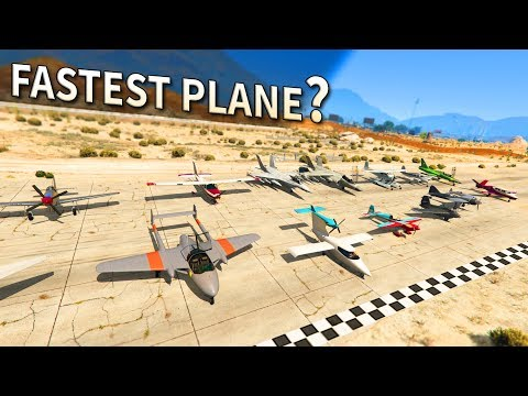 GTA V - Which is the Fastest Plane?